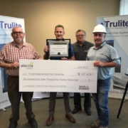 Trulite receives energy incentive check for $147,428.